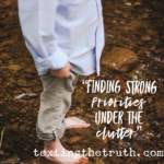 Finding Strong Priorities Under the Clutter
