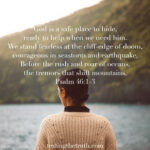 God Is Our Safe Place to Hide